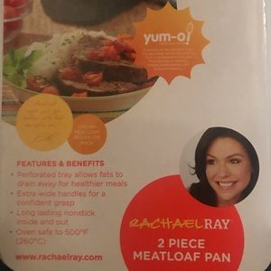 Rachel Ray 2 piece non-stick meatloaf pan